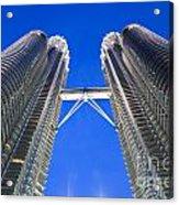 Petronas Tower Bridge Detail Acrylic Print