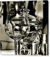 Pewter And Glass Acrylic Print