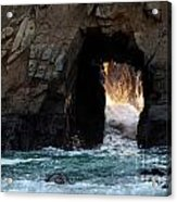 Pfeiffer Rock Big Sur Acrylic Print