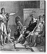 Phaedra And Hippolytus Acrylic Print