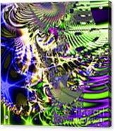 Phantasm . Square Acrylic Print by Wingsdomain Art and Photography
