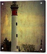 Phare De Ouistreham Or Ouistreham Lighthouse    Caen Acrylic Print