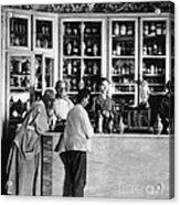 Pharmacy C. 1900 Acrylic Print