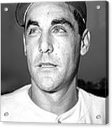 Phil Cavarretta, Lefty First Baseman Acrylic Print by Everett