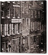 Philadelphia 1843 Acrylic Print