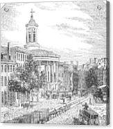 Philadelphia, 1854 Acrylic Print