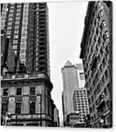 Philadelphia 18th And Walnut Street. Acrylic Print