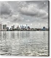 Philadelphia Across The Water Acrylic Print
