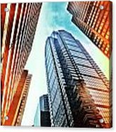 Philadelphia Gotham Acrylic Print