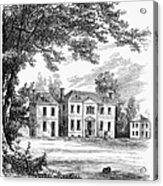 Philadelphia: Mansion Acrylic Print