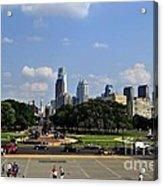 Philadelphia Skyline 5 Art Museum Acrylic Print