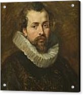 Philippe Rubens - The Artist's Brother Acrylic Print by Peter Paul Rubens