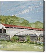 Philippi Covered Bridge  Acrylic Print
