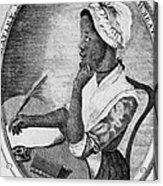 Phillis Wheatley 1753-1784, The First Acrylic Print