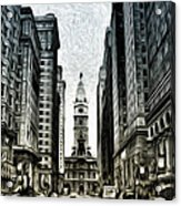 Philly - Broad Street Acrylic Print