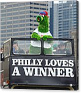 Philly Loves A Winner Acrylic Print