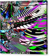 Phoenix Rising . S3.s9 Acrylic Print by Wingsdomain Art and Photography