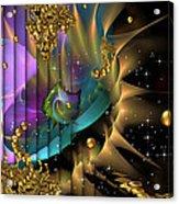Phool's Gold Acrylic Print