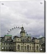 Photo Of London With London Eye In The Background Acrylic Print