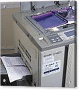 Photocopier Acrylic Print