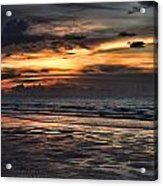 Photographing Sunsets Acrylic Print