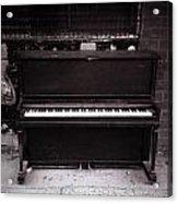 Piano Bar- Tallulah Louisiana Acrylic Print