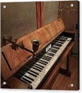 Piano Candelabra Acrylic Print