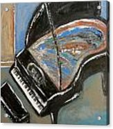 Piano With Spiky Heel Acrylic Print