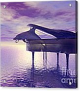 Piano's Lesson Acrylic Print