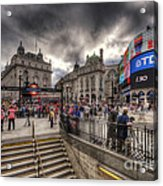 Piccadilly Circus - London Acrylic Print