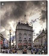 Piccadilly Panorama Acrylic Print