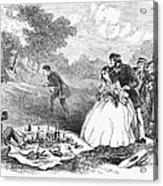 Picnic, 1859 Acrylic Print