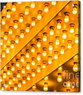 Picture Of Theater Lights Acrylic Print by Paul Velgos