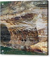 Picture Rocks Splendor Acrylic Print