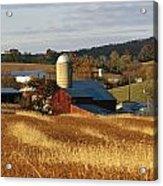 Picturesque Farm Photographed Acrylic Print