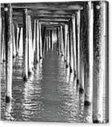 Pier In Acrylic Print