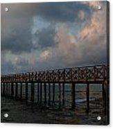 Pier Into Dawn Acrylic Print