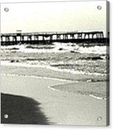 Jacksonville Beach Florida Pier 1997 Acrylic Print
