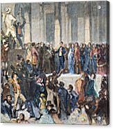 Pierce Inauguration Acrylic Print by Granger