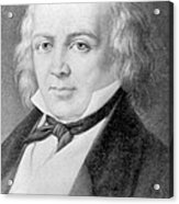 Pierre Jean De Béranger 1780-1857 Acrylic Print by Everett
