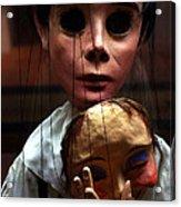Pierrot Puppet Acrylic Print