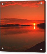Pierson Lake Sunrise Acrylic Print
