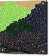 Pile Of Wine Grapes Acrylic Print
