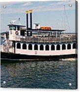 Pilgrim Belle Harbor Cruise Acrylic Print