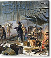 Pilgrims: First Winter, 1620 Acrylic Print