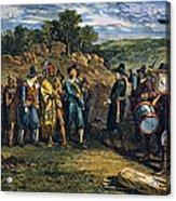 Pilgrims: Massasoit Acrylic Print