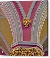 Pillar Details Acrylic Print