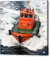 Pilot Boat - Dardanelles-canakkale Acrylic Print