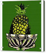 Pineapple Study  Acrylic Print