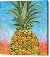 Pineapple Sunrise 2 Or Pinapple Sunset 2 Acrylic Print
